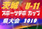 2019年度 栃木県高校女子サッカー新人大会 優勝は宇都宮文星女子!