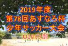 2019年度 第5回芳賀オープン少年サッカー大会U-11 優勝はアミスタ市貝!栃木 12/7.8開催