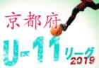 JFA U-10サッカーリーグ 2019 京都 12/27結果更新しました!日程情報お待ちしています!