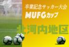 2019年度 第13回卒業記念サッカー大会 MUFGカップ【三島地区予選】(大阪)大阪大会出場5チーム決定!