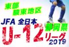 2019年度 JFA第43回全日本少年サッカー大会静岡県大会 東部三島地区予選  清水エスパルス三島 、三島VFCが東部大会出場決定!