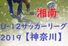 第5回 JFA U-12サッカーリーグ2019 神奈川 湘南地区 後期 FA中央大会出場チーム続々決定!! 10/20までの結果更新! 結果入力ありがとうございます!
