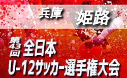 2019年度 JFA第43回全日本U-12サッカー選手権大会 兵庫大会 姫路予選 10/26組合せ掲載