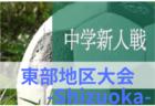 2019年度 三井のリハウス 東京都U-12サッカーリーグ1部/2部 全日程終了!結果掲載!