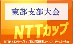 2019年度 NTT西日本グループカップ第52回静岡県ユースU-12サッカー大会 東部支部予選 組合せ・大会情報お待ちしています!12/8開幕
