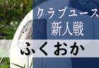 2019年 第33回福岡県クラブユース(U-14)サッカー大会(新人戦)優勝はブリジャール!九州大会出場チーム掲載
