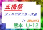 最新結果掲載 2019年度 U-13サッカーリーグ2019福島