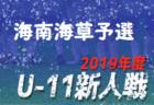 2019年度 第3回ワコーレ杯 チビリンピック2020 宝塚予選(北摂大会予選) 兵庫 優勝は長尾WFC A!