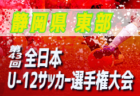 代表決定!第7支部予選 2019年度 第63回東京都中学校サッカー新人戦 結果掲載!