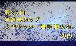 2019年度第25回阿波銀カップ少年サッカー選手権大会 優勝はリベルテSC!