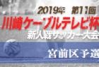2019年度 第7回館林協会長杯争奪女子サッカー大会(群馬)優勝は河内ジュベニール(栃木)