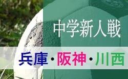 2019年度 川西猪名川地区新人大会(阪神大会予選) 10/19,20組み合わせ掲載 兵庫
