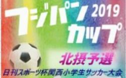 2019年度 第26回 関西小学生サッカー大会 北摂大会 兵庫 12/14,15組み合わせ掲載!
