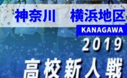 2019年度 神奈川県高校サッカー新人大会 横浜地区予選 1/25シード決定トーナメント&代表決定トーナメント結果速報!情報をお待ちしています!