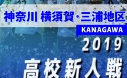 2019年度 神奈川県高校サッカー新人大会 横須賀・三浦地区予選 12/15予選リーグ終了!Bブロック最終結果掲載!結果入力ありがとうございます!