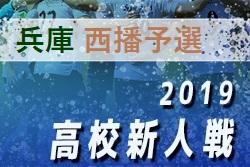2019年 西播総合体育大会 (兼)兵庫県高校サッカー新人大会・西播支部予選 12/14結果速報