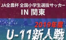 2020 JA全農杯全国小学生選抜サッカー IN 関東〔チビリンピック〕(山梨県開催) 神奈川で代表決定! 本戦は3/14,15開催!