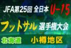 2019年度JFA第10回全日本U-15女子フットサル大会 東北大会 優勝はFC BLOOM福島!