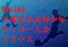 公式結果掲載!高円宮杯 JFA 2019第31回全日本 U-15サッカー選手権大会福岡県予選 優勝はギラヴァンツ北九州