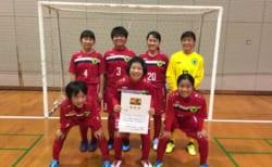 SFA第10回全日本女子U-15フットサル大会佐賀県大会 優勝はALEGRE CAMINHO!