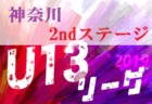 2019年度 神奈川県(U-13)サッカーリーグ 2ndステージ 1部終了、横浜FC戸塚が優勝&関東リーグへ!! 2/22~24結果更新!結果入力ありがとうございます!
