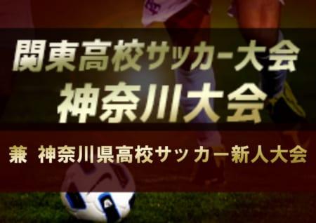 2019年度 神奈川県高校サッカー新人大会 兼 2020年度 関東高校サッカー大会 神奈川県2次予選 1/25地区予選終了、全代表&シード校決定予定!本戦は4月開幕予定!