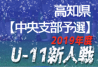 2019年度JFA第43回全日本U-12サッカー選手権大会福岡大会 北九州ブロック大会 中央大会出場チーム掲載!