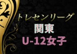 2019年度 関東トレセンリーグU-12女子 1/19までの結果更新!結果入力ありがとうございます!続報や参加メンバー情報をお待ちしています!