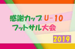 2019年度 感謝カップU-10フットサル大会(新潟県)優勝は Noedegrati Sanjo FC!
