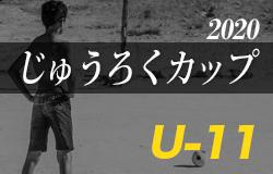 2020年度 第13回じゅうろくカップU-11 岐阜県サッカー大会 情報をお待ちしています!