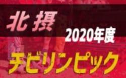 2019年度 第3回ワコーレ杯 チビリンピック2020 北摂予選 組合せ掲載!兵庫 12/21開催