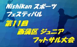 2019年度 第11回 西蒲区ジュニアフットサル大会(新潟県) 優勝は AFC94!