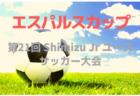 2019年度 第13回埼玉県第4種サッカーリーグ選手権 優勝は上尾朝日!