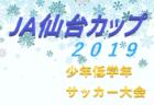 2019年度 第6回サンプロカップU-8(長野)優勝チーム募集 第3位はセダック