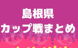カップ戦・小さな大会情報まとめ 島根県【随時更新】情報お寄せください!