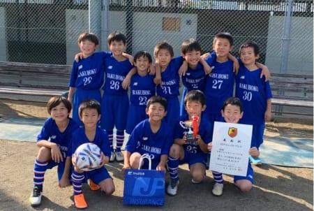 2019年度 かんぽカップU-8リーグ 京都 優勝は京都らくほくFC!