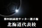 2019年度 第11回栃木ユースU-13サッカーリーグ 結果速報!11/23は中止!次節12/14,15!
