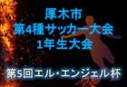 2019年度 第14回 埼玉県第4種新人戦 さいたま市南部地区予選 県南大会出場5チーム決定!