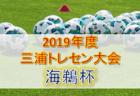 アビスパカップ・九州選抜大会参加選手、2019年度 福岡県トレセン後期U-14追加選手決定!