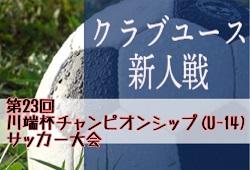 2019年度 第23回川端杯チャンピオンシップ(U-14)サッカー大会 大会情報募集中!12/21開催