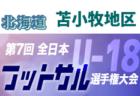 高円宮杯JFA U-18サッカーリーグ2019千葉<1部リーグ> 第17節結果掲載!次は最終節12/15
