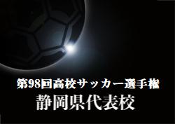 がんばれ静岡学園高校!第98回高校サッカー選手権静岡県代表・静岡学園高校サッカー部紹介 監督・キャプテンコメント追加しました!