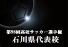 東海ルーキーリーグU-16~create the future~2019(クリエイト ザ フューチャー) 藤枝東が3連覇!