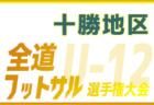 全道フットサル選手権2020 U-14の部 函館地区予選(北海道)優勝はアスルクラロ函館!