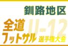 2019年度 神戸市U-12リーグ【2部・後期六甲リーグ】(兵庫県) 優勝は北五葉B!全結果掲載!