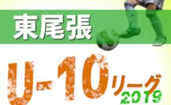 2019年度  東尾張U-10リーグ 後期 (愛知) Aブロック優勝はフェルボールA!2/24結果更新!次回日程情報お待ちしています!