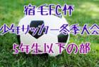 2019年度 第9回フレンド・チャリティカップU-9 (栃木県) 優勝はLAZOS茨城!情報ありがとうございます!