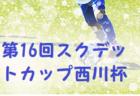 2019年度 ミルクカップ 第43回GTV杯少年サッカー大会(群馬)初優勝、PALAISTRA!ベストイレブン賞 選手名掲載!
