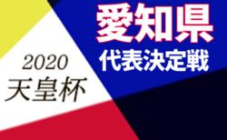 2020年度 第25回愛知県サッカー選手権大会 兼<天皇杯>愛知県代表決定戦  決勝のみ5/9開催!