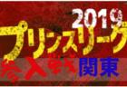 高円宮杯JFA U-18サッカープリンスリーグ2019関東 参入戦 千葉を除く7都県で代表決定!12/22~26開催!
